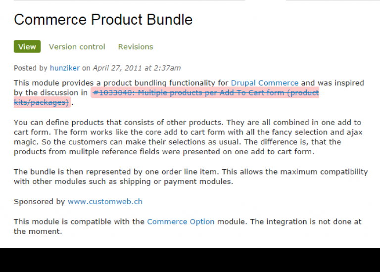 The Drupal Commerce product bundle debacle