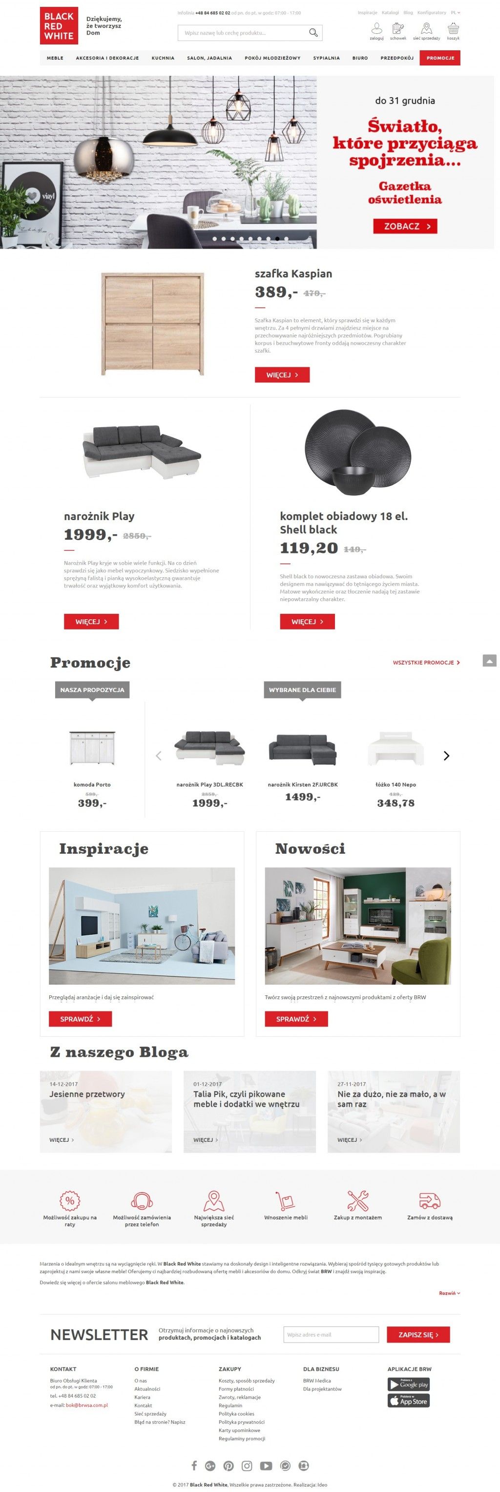 Black Red White On Cart Craze Ecommerce Website Design
