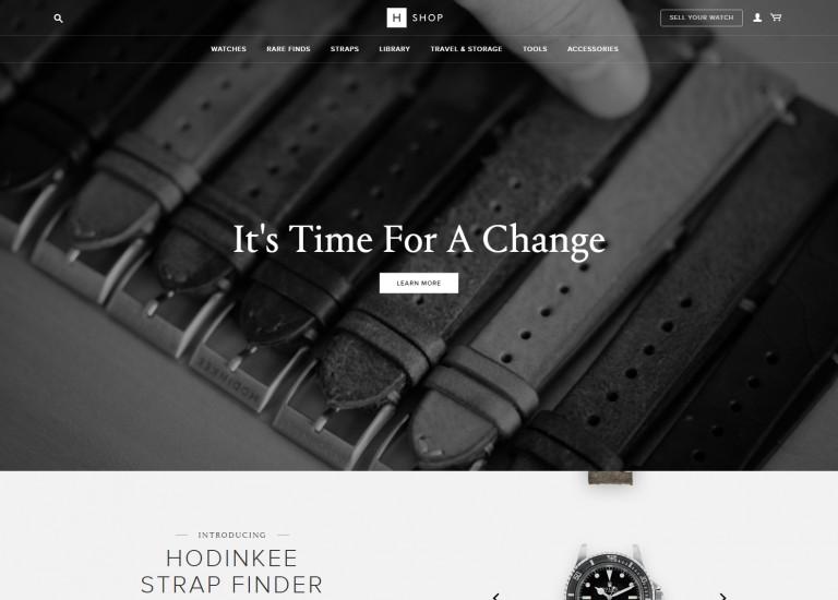Hodinkee Shop