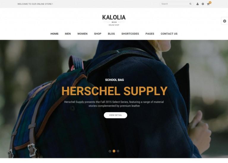 Kalolia WooCommerce Theme